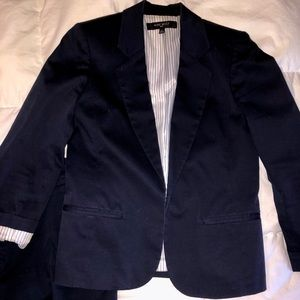 Nine West navy blue suit (size 4)
